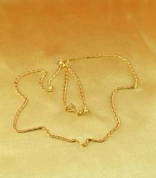 "Buy gold micro platted chain size-20"" key-chain online"