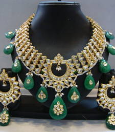 Buy Design no. 8B.2049....Rs. 14250 necklace-set online