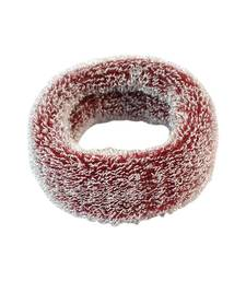Buy Plain Maroon Fabric Hair Rubber Band for Women Other online
