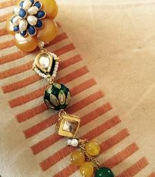 Buy Marvelous multicolour brooch brooch online