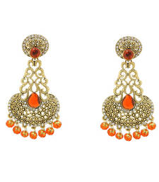 Buy bollywood style Red  Earrings danglers-drop online