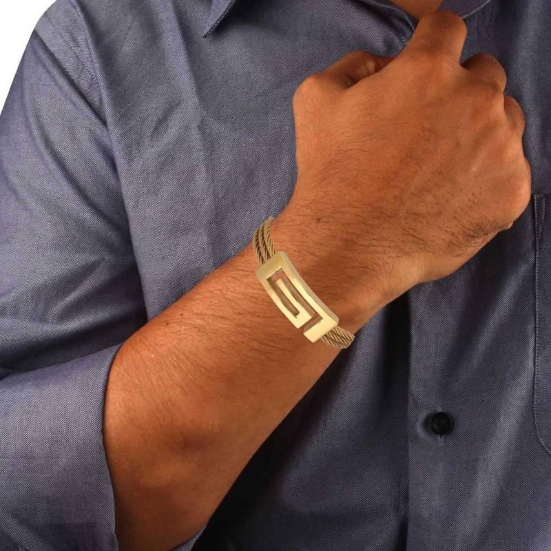 Buy Italian Designer 18k Gold Plated Surgical Stainless