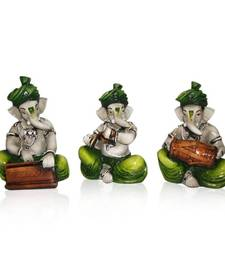 Buy Diwali coroporates gifts Set of 3 Instrumental Ganesha diwali-corporate-gift online
