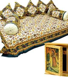 Buy Buy Dewaand Bedcover Set and Get Key Holder Box Free bed-sheet online