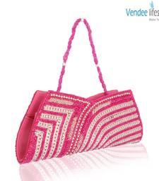 Buy Vendee Lifestyle Pink Clutch Handbag (7329) clutch online
