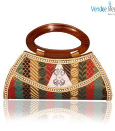 Buy Vendee Lifestyle Multicolor Clutch for Women (7358) clutch online