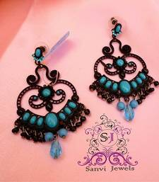 Turquoise Victorian Earrings  shop online