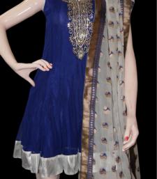Buy Blue Anarkali anarkali-salwar-kameez online