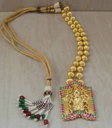 Buy Laxmi necklace-137(temple jewellery) Necklace online