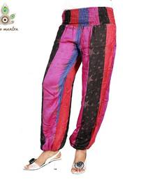 Buy Latest Designer Cotton Multi Color Harem Legging Salwaar Pants Jump Suit Ladies Yoga Pants other-apparel online