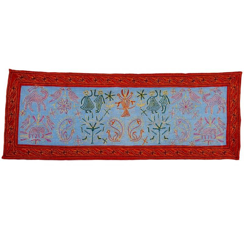 Buy Colourful Rich Hand Embroidered Wall Hanging 508 Online