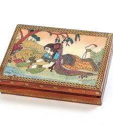 Buy Real Gem Stone Jewellery Box-010 jewellery-box online