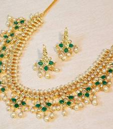 Buy ETHNIC GOLD PLATED SET necklace-set online