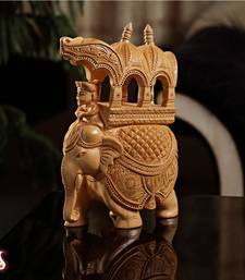 Buy Skillfully carved elephant statuette other-home-accessory online