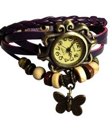 Buy Beautifull Women Vintage Watch - Watches by Morden Brown Watch watch online
