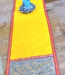 Buy Yellow Table Runner table-mats-and-runner online