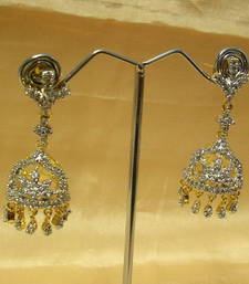 Buy BEAUTIFUL JHUMKA AD-CZ 001 gifts-for-her online
