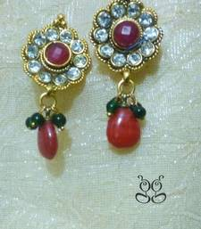 Buy Flower Kundan Danglers  Other online