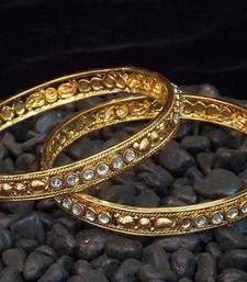 Buy Ethnic and traditional zircon stud bangles bangles-and-bracelet online
