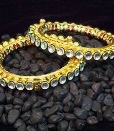 Buy Traditional and ethnic kundan jadau bangles bangles-and-bracelet online