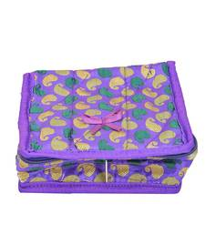 Buy Purple plain jewellery-box jewellery-box online