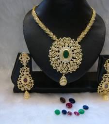 Buy Design no. 12.1780....Rs. 11000 necklace-set online