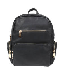 Buy Black plain backpacks backpack online