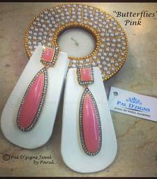 Buy Butterflies - Pink danglers-drop online