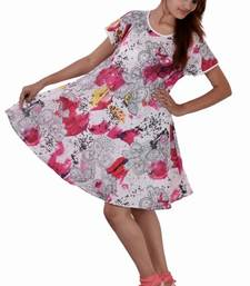 Buy Cotton Printed Pink Color  Dress other-apparel online