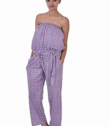 Buy Cotton Printed Orange   Color Jumpsuit other-apparel online