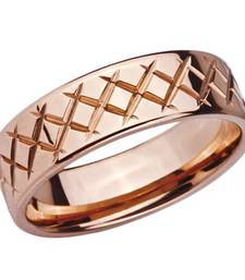 Buy Stainless Steel Rose Criss Cross Ring for Men gifts-for-boyfriend online