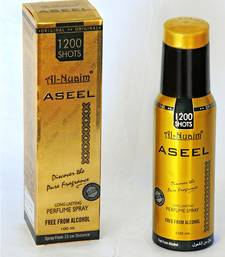 Buy AL NUAIM ASEEL 100ML 1200 SHOTS PERFUME  gifts-for-him online