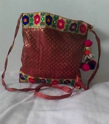 Buy HANDMADE POTLI BROCADE_58 potli-bag online