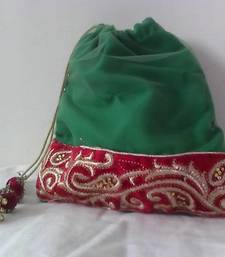 Buy HANDMADE POTLI BROCADE_61 potli-bag online