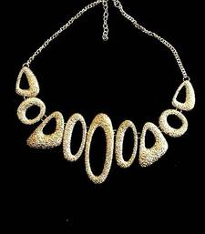 Buy Golden Rocks Neck-piece Necklace online