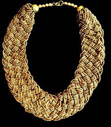 Buy Bronze Neck-piece Necklace online