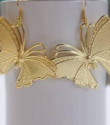 Buy Butterfly earrings danglers-drop online