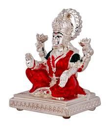 Buy Diwali gifts - Lakshmi Silver Plated Idol diwali-silver-gift online