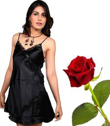 Buy Seductive Black Evening Frock Set Valentine Gift valentine-gift online
