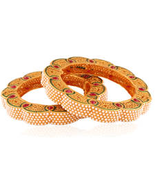 Buy Special Gold plated antique bangle bangles-and-bracelet online
