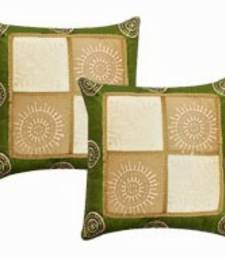 Buy Gold Print Cushion Cover- Set of 2 pillow-cover online
