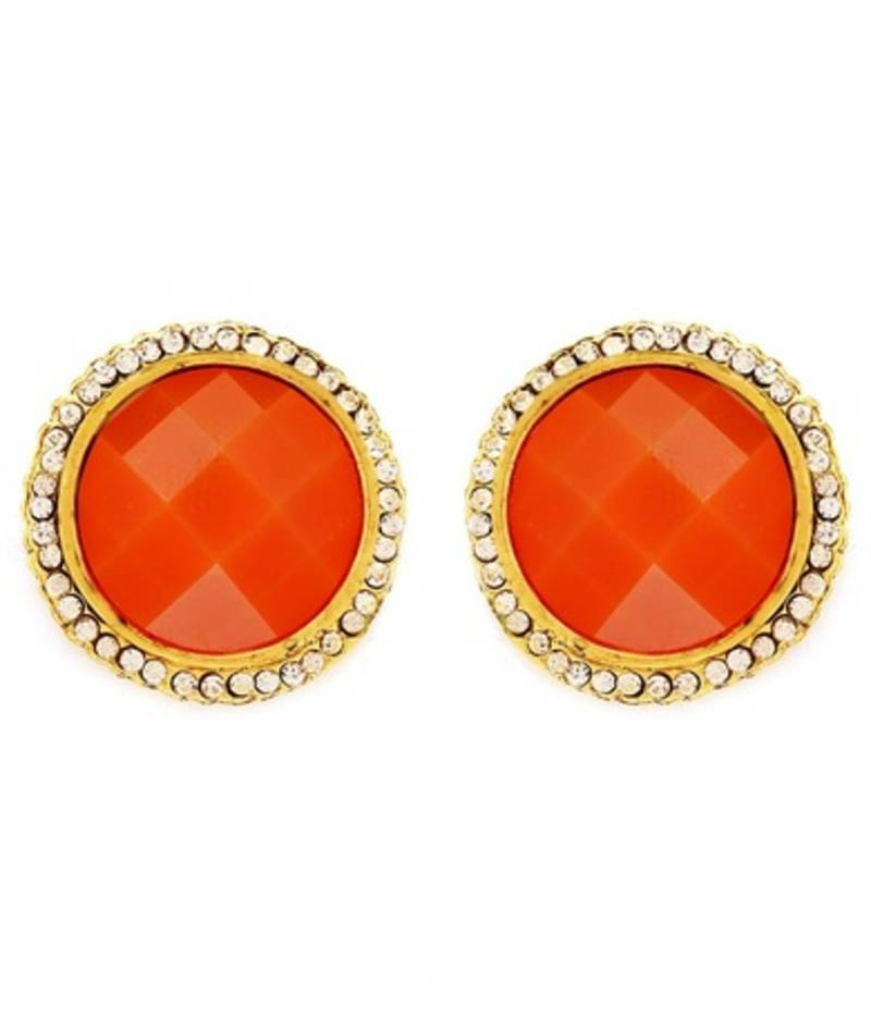 Buy Classic Gold Plated Ad Earring For Women Online