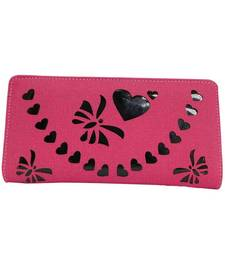 Buy Pink and wallets wallet online