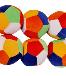 Buy Riya Enterprises Rattle Ball Set (Set of 6 Pcs) Size 1 gifts-for-kid online