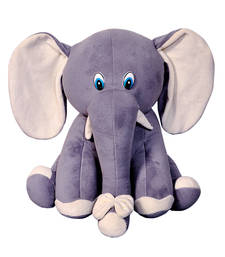 Buy Riya Enterprises Stuffed Animal Elephant 32 Cm gifts-for-kid online