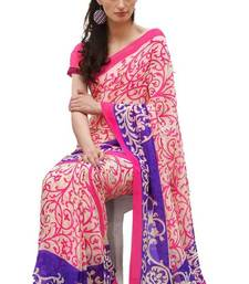Buy Smart printed saree georgette-saree online