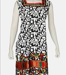 Buy Just Women- Geometric Designed Kurti kurtas-and-kurti online