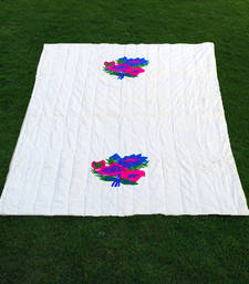 Buy cotton embroidered quilt quilt online