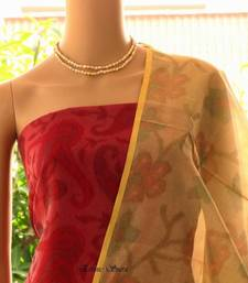 Chanderi with Patola Prints shop online