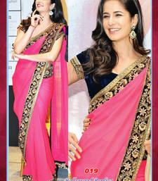 Buy Bollywood Replica Katrina Kaif  Chiffon Saree katrina-kaif-saree online